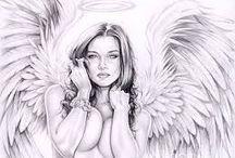 """Ангелы света- Angels of light / Научитесь вызывать """"тайных советников"""" (ангелов хранителей), это несложно. Learn how to call the """"privy councilors"""" (guardian angels), it's easy."""