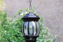 LANTERNE PER ESTERNI / Idee e proposte per illuminare e decorare le terrazze e giardini con lampade originali