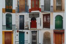Doors by Lornarobertsonart. / Doors, colours, shapes, photography, paintings