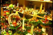 Christmas Flower / Karácsonyi dekorációs ötletek virágokból :) www.tulivirag.hu