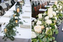 Wedding Reception Decor Inspiration / Wedding reception decor and design ideas for St. Augustine & Jacksonville weddings.