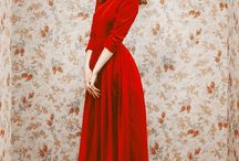 Red is Steamy and Hot / Modest Red Outfits&Other Red Stuff / by Nathalie Fernando