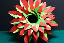 Kirigami done / These are the ones I found on Pinterest and have tried