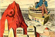 Studená válka / propagační plakáty ze studené války