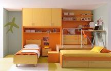 Dormitoare Copii / Inveseliti camera copiilor aducandu-le un strop de culoare in viata lor.
