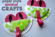 animals paper plate