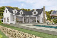 New England style / Alt som er inspirerende med new England hus