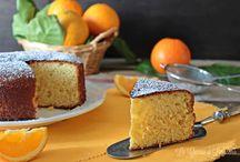 Torta all arancia