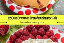 Cute breakfast for kids