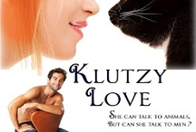 Klutzy Love, Book three of The Corny Myers Series / Corny is a hot chick with a great job that she loves. All that changed in the blink of an eye when her boss had an accident involving an oversized rubber band. She's still a hot chick, but her boss is dead.