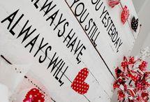 Valentijn / De meest liefdevolle dag van het jaar! Op zoek naar iets liefs voor je jouw eeuwige liefde? Doe dan hier inspiratie op.