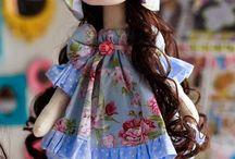 Bonecas de pano / moldes, dicas e inspiração com tema bonecas de pano!