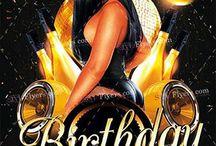 Birthday PSD Flyer Free Download