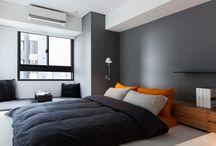 salas pequenas minimalistas / Recamaras