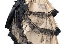 Steampunk öltözködés / ruhák, fűzők, lábbelik
