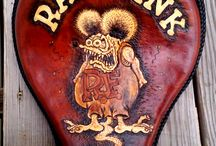Rat Fink Solo Motorcycle Seat / I did it....