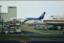 羽田のハンガーの前はアラカルトという感じでした。 at Tokyo Haneda airpot #airplane #aviation #airport #hanedaairport #羽田空港 #飛行機写真
