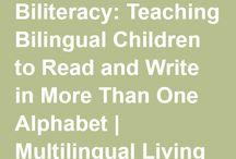 Bilingual babies / #Bilingualbabies is a board dedicated to raising bilingual and multilingual children