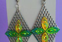 My handmade work -earrings