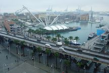 supraelevata genua / -elevated street in genua -allong the cost of genua -traffic -revitalisation