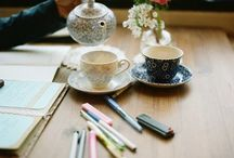 tea, coffee, books, stationary