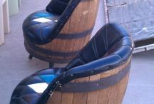 Barrel furniture / Awesome barrel creations