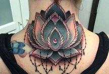 Neck tattoo / Tutti i tattoo sul collo