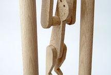 hračky a srandičky z dreva a ineé