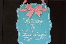 """Alice in wonderland"" Birthday Party"