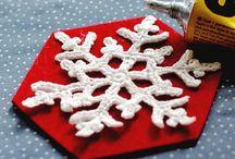 christmas coasters crochet