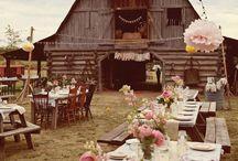 // Barn Wedding //