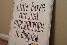 Boys room idea