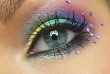 peacock eye make up