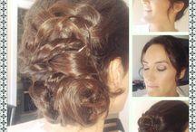 peinados y maquillajed