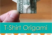 card making and t shirt folding