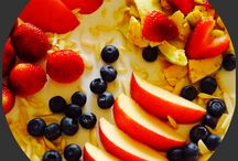 healthy brekkie / healthy breakfast to kick start a fine day