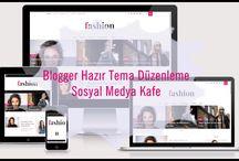 Blogger Hazır Tema(Şablon) Düzenleme Resml Anlatım