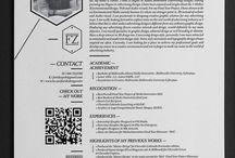 CV / Resume inspiration