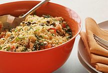 Rice, Quinoa, Pasta and other grains
