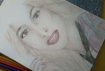 #drawing Tini Stoessel / drawing #Tini Stoessel