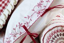 Brodera Örngott / Embroidery pillowcase