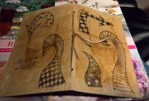 My Teabag art
