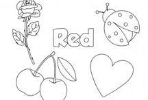 renk kırmızı red