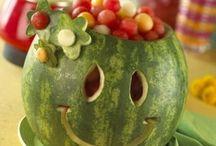 Watermelon Carvings / by Alysa MacKelvey