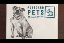 Postcard Pets by Cherith Harrison / Win an exclusive illustration of your pet by Cherith Harrison with our monthly Postcard Pets competition. Visit our website for further details.