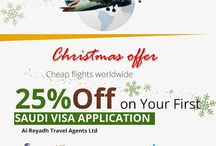 Saudi visa / Al-reyadh travel agents - one stop solution for all your Soudi Visa needs, Cargo Services, and Haj and Umrah Tours.