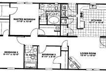 1100 SF Floor Plans