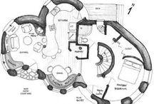 casa redonda plano