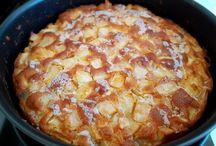 kuchen aus Äpfel