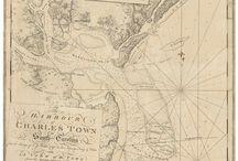 Revolutionary War USA Coast Surveys by the British Navy - Des Barres